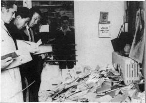Raid op het Institut fuer Sexualforschung te berlijn, 1933